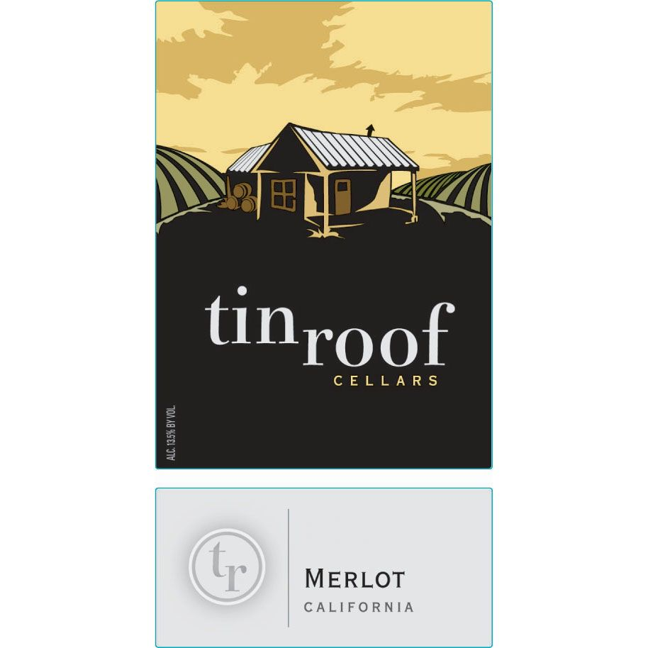 Tin Roof Merlot 2011 Front Label