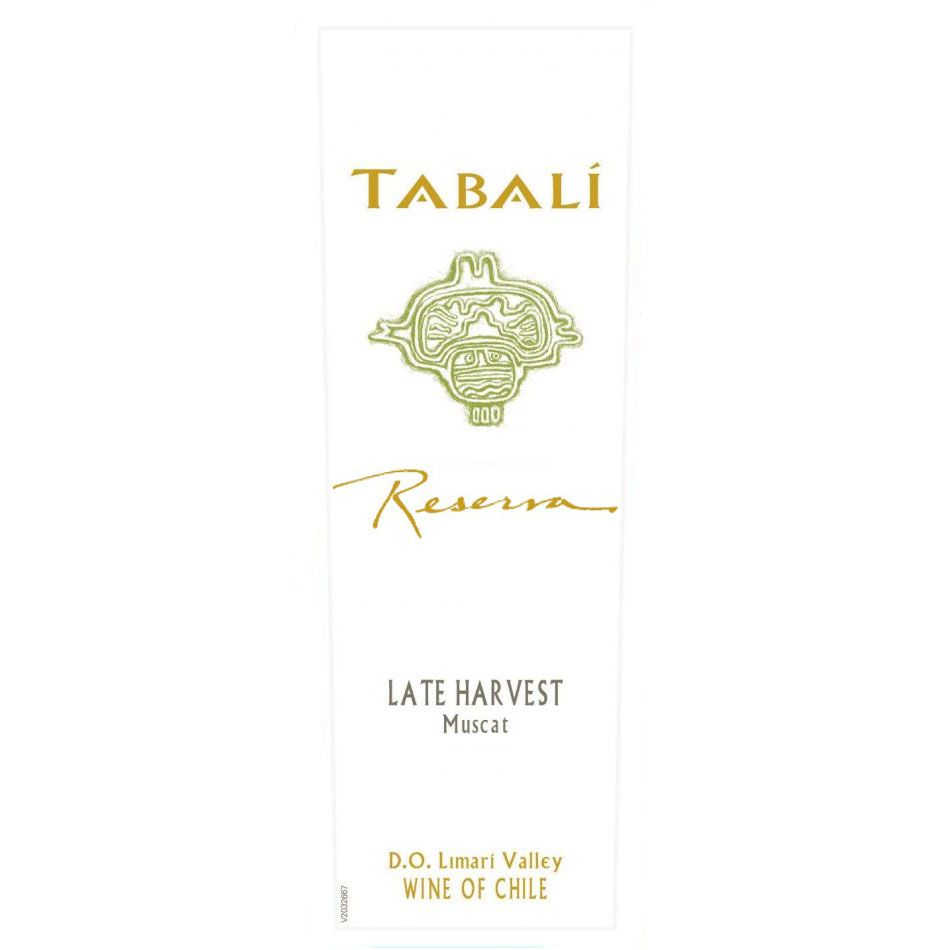 Tabali Late Harvest Muscat (375ML half-bottle) 2010 Front Label