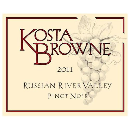 Kosta Browne Russian River Pinot Noir 2011 Front Label