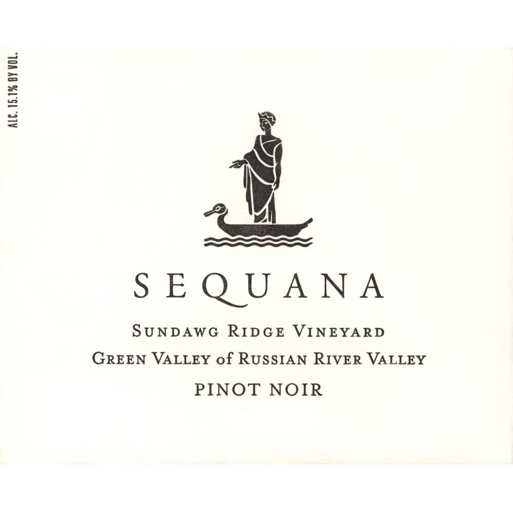 Sequana Sundawg Ridge Vineyard Pinot Noir 2010 Front Label