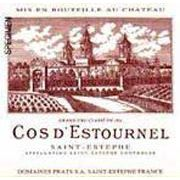 Chateau Cos d'Estournel (375ML half-bottle) 2004 Front Label