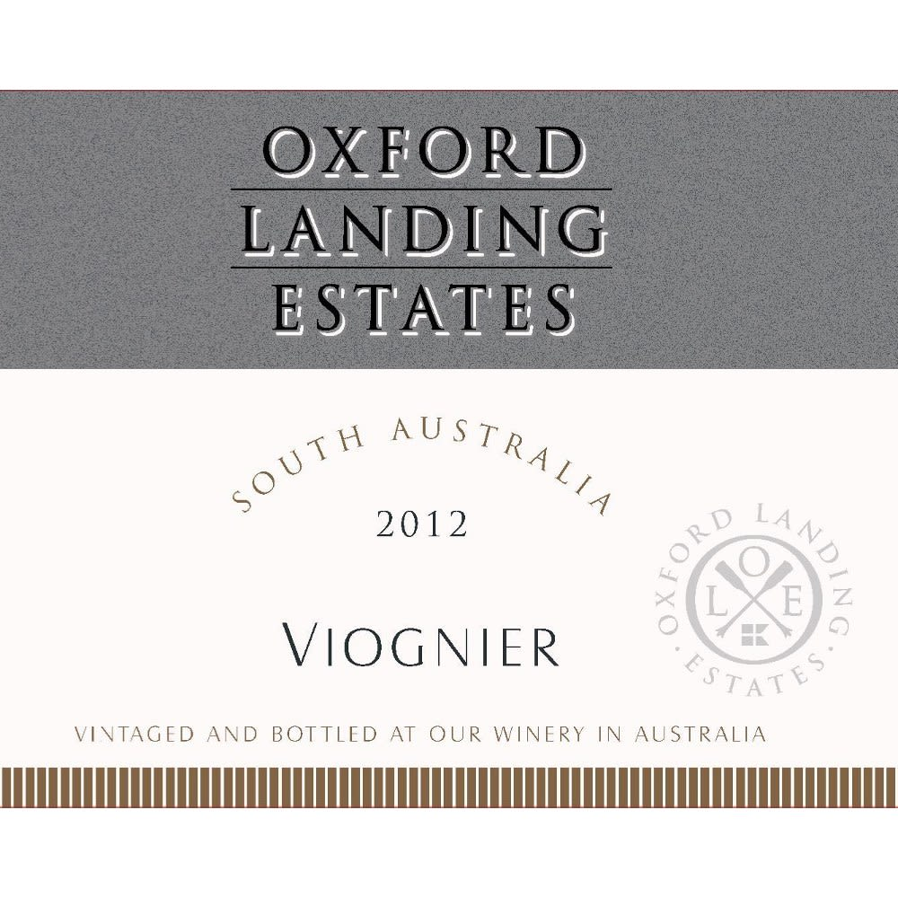 Oxford Landing Viognier 2012 Front Label