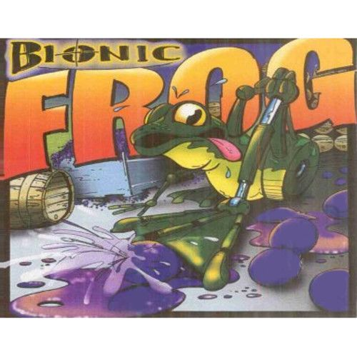 Cayuse Bionic Frog Syrah 2005 Front Label