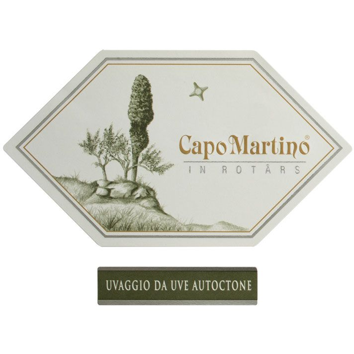 Jermann Capo Martino 2009 Front Label