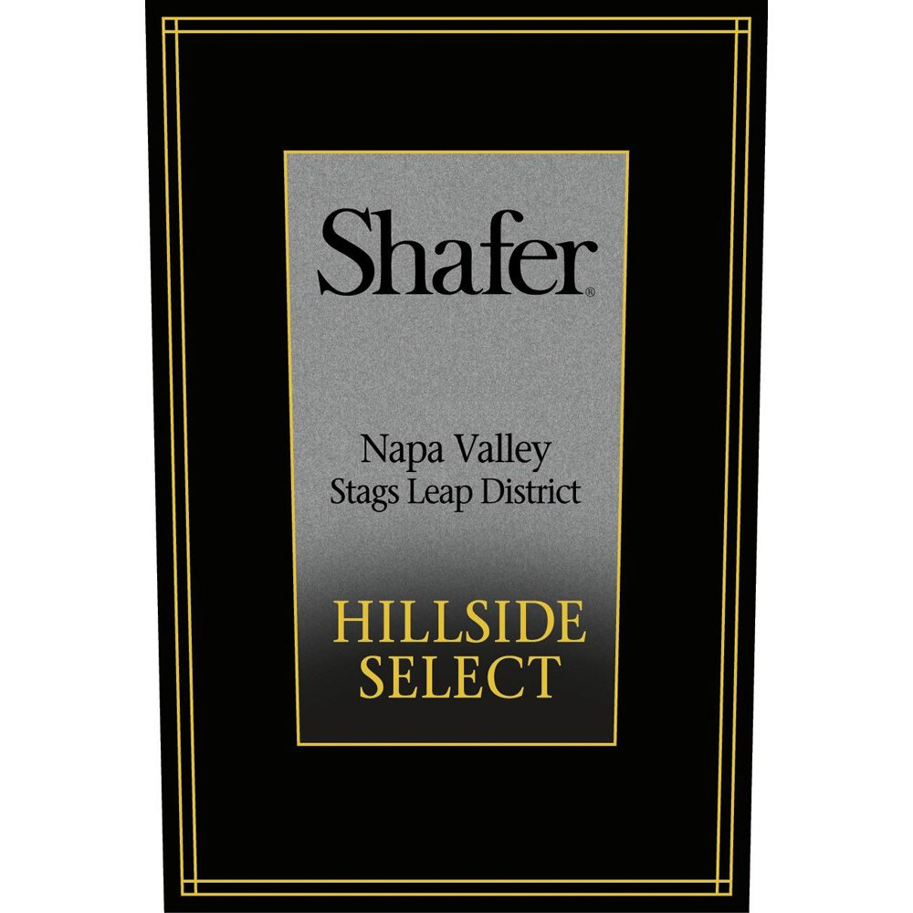 Shafer Hillside Select Cabernet Sauvignon (1.5 Liter Magnum) 2008 Front Label
