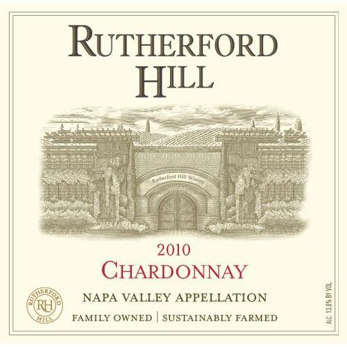 Rutherford Hill Chardonnay 2010 Front Label