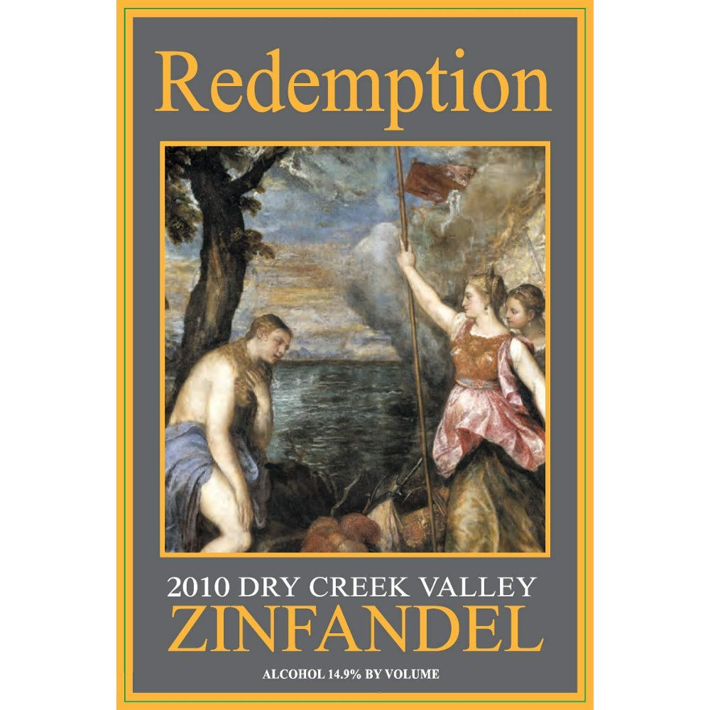 Alexander Valley Vineyards Redemption Zin 2010 Front Label