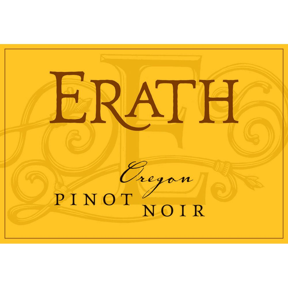 Erath Pinot Noir 2011 Front Label