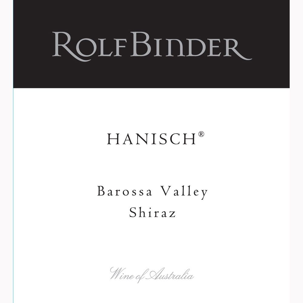 Rolf Binder Hanisch Shiraz 2002 Front Label