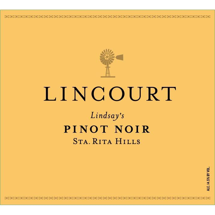Lincourt Lindsay's Pinot Noir 2010 Front Label
