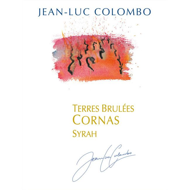 Jean-Luc Colombo Cornas Les Terres Brulees 2010 Front Label