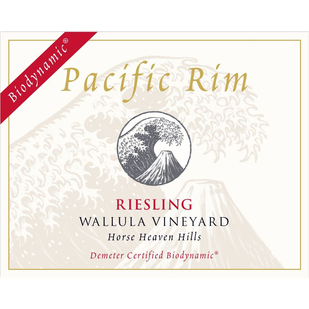 Pacific Rim Wallula Vineyard Biodynamic Riesling 2012 Front Label