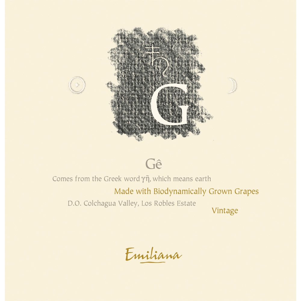 Emiliana Ge (Certified Biodynamic) 2007 Front Label