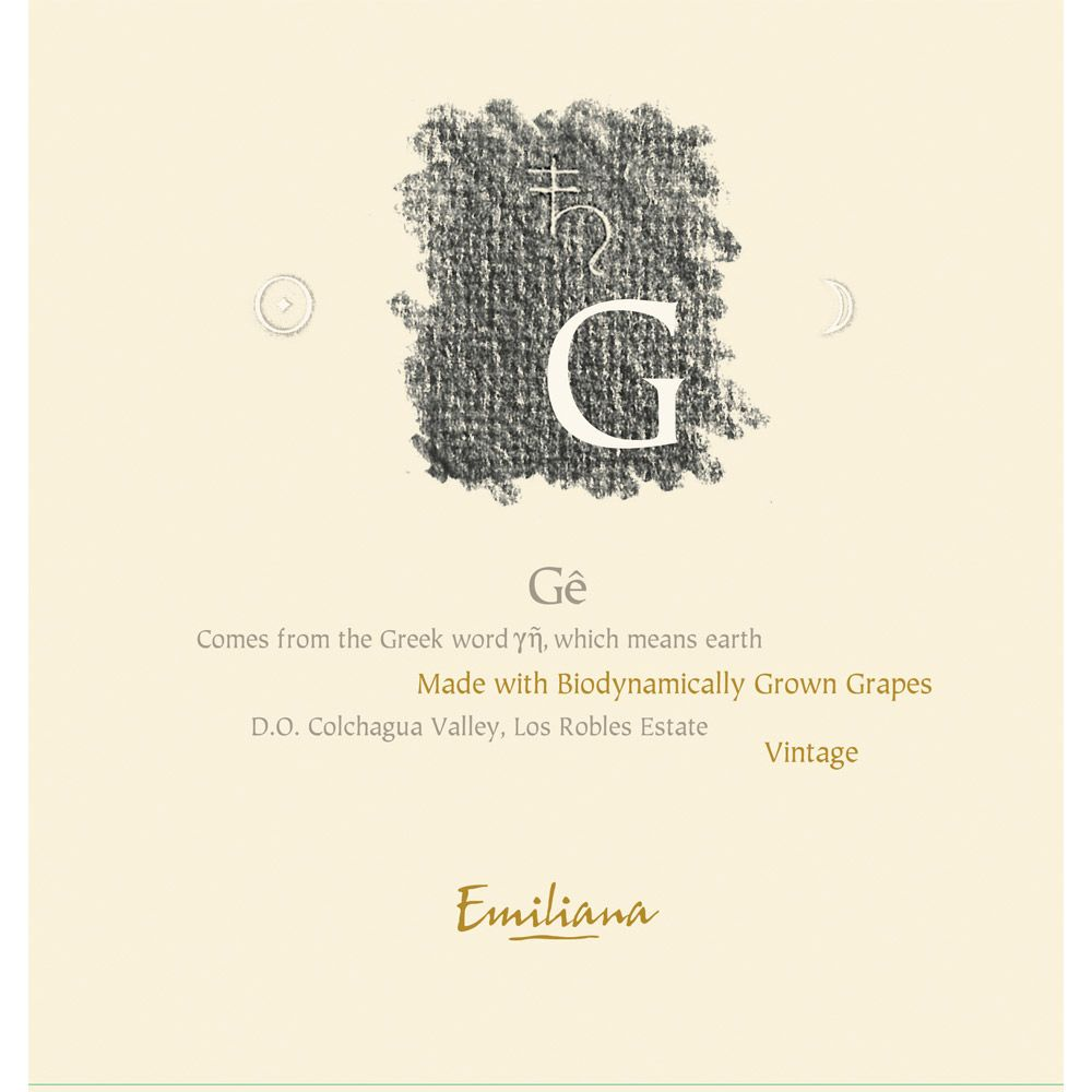 Emiliana Ge (Certified Biodynamic) 2010 Front Label