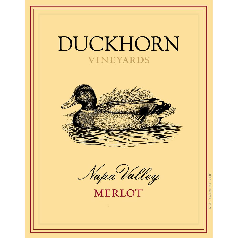 Duckhorn Napa Valley Merlot (375ML half-bottle) 2010 Front Label