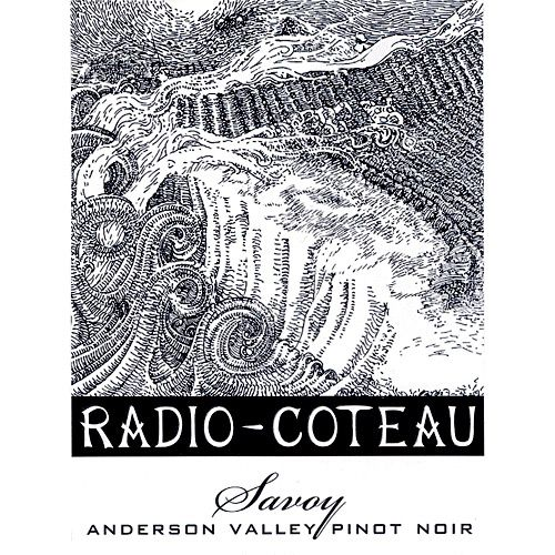 Radio-Coteau Savoy Vineyard Pinot Noir 2007 Front Label