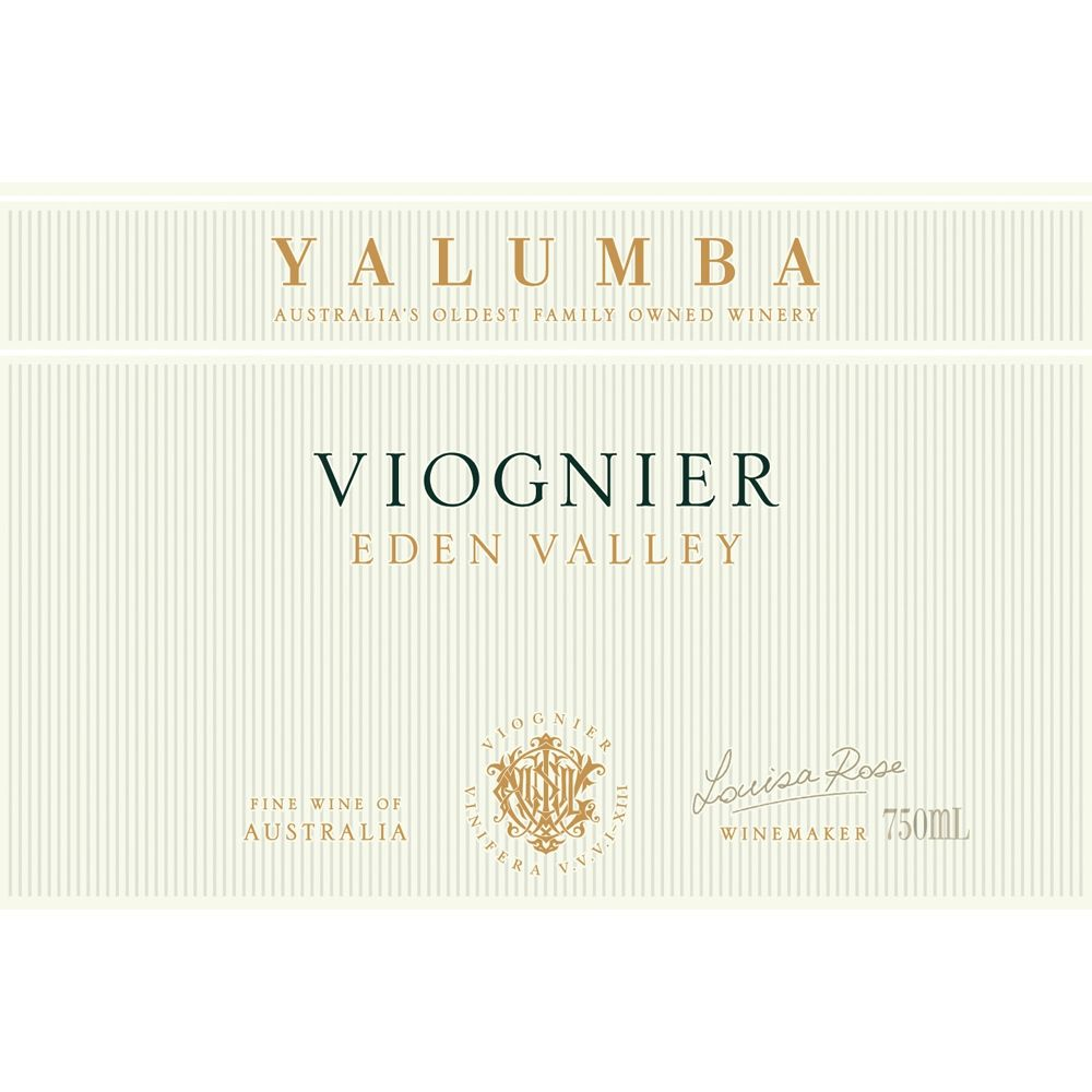 Yalumba Eden Valley Viognier 2012 Front Label