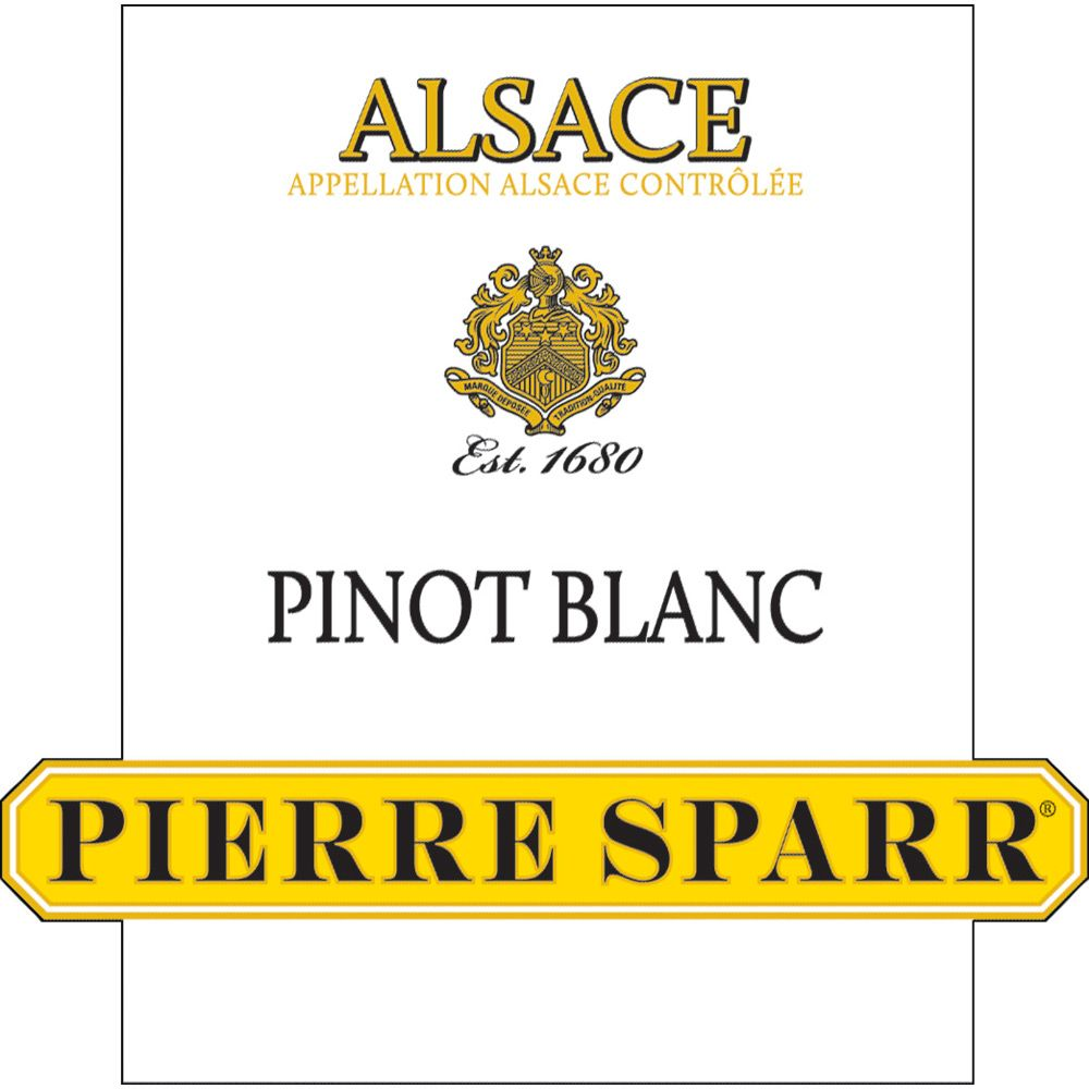 Pierre Sparr Pinot Blanc 2011 Front Label