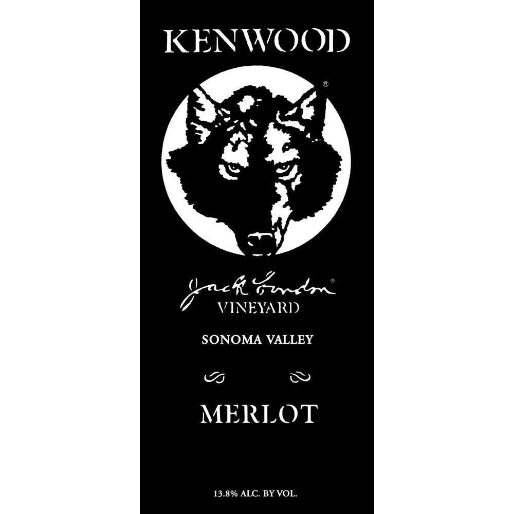 Kenwood Jack London Vineyard Merlot 2010 Front Label