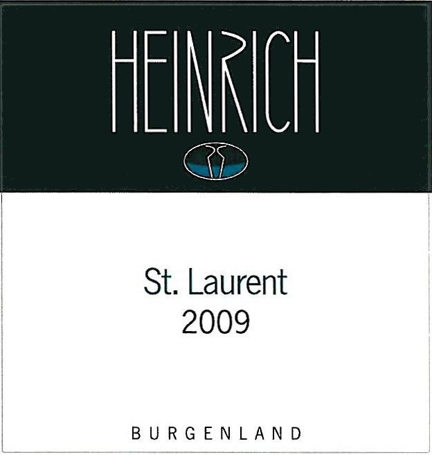 Heinrich St. Laurent 2009 Front Label