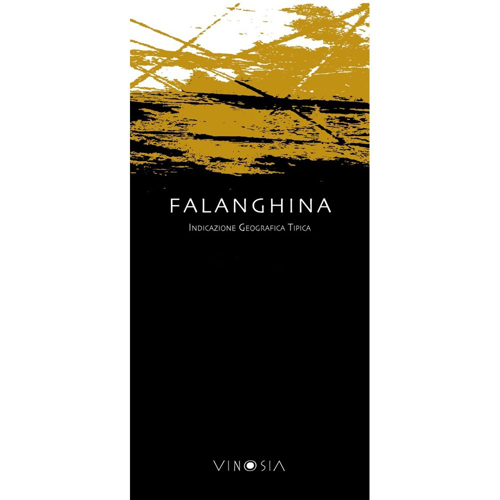 Vinosia Falanghina 2012 Front Label