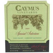 Caymus Special Selection Cabernet Sauvignon (3 Liter Bottle) 2004 Front Label