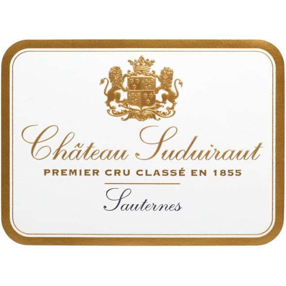 Chateau Suduiraut Sauternes (375ML half-bottle) 2010 Front Label
