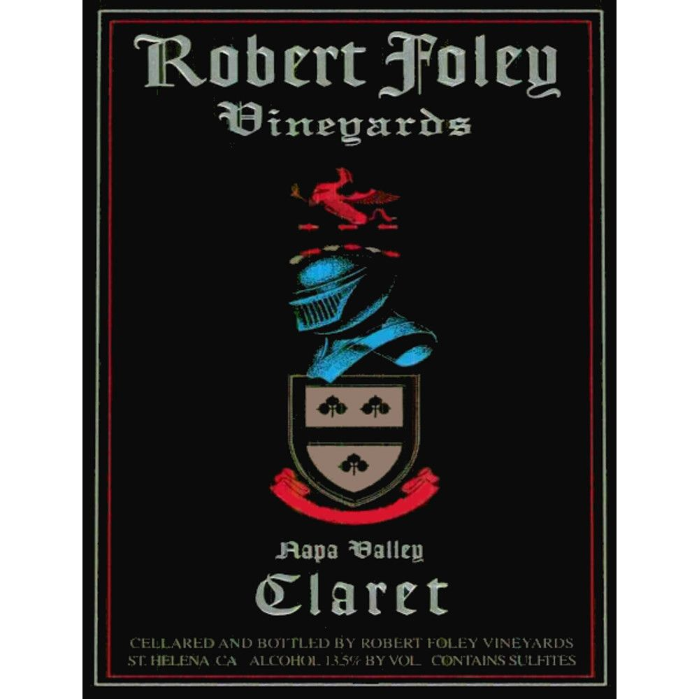 Robert Foley Vineyards Claret 2007 Front Label