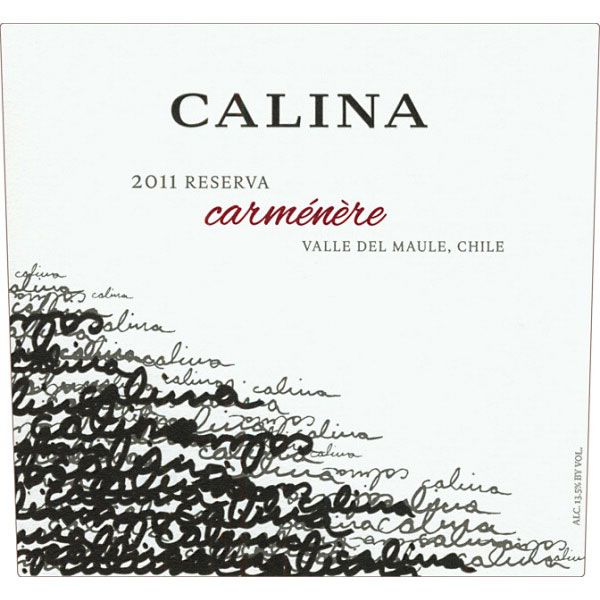 Calina Carmenere 2011 Front Label