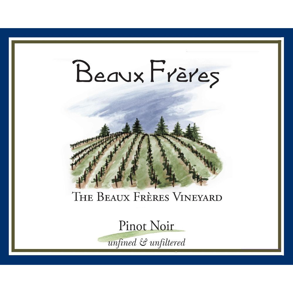 Beaux Freres The Beaux Freres Vineyard Pinot Noir 2011 Front Label