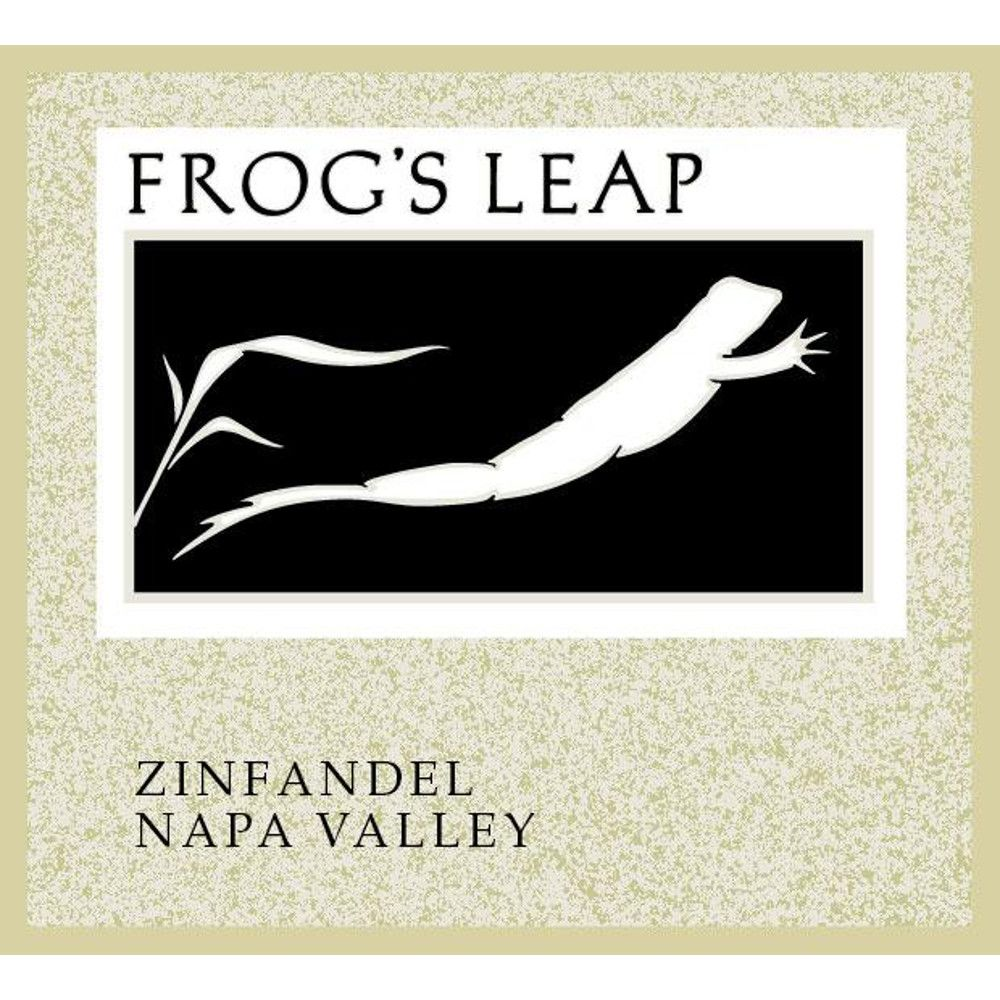Frog's Leap Zinfandel (375ML half-bottle) 2011 Front Label