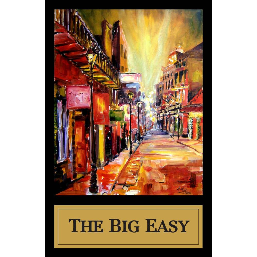 Fess Parker The Big Easy 2010 Front Label