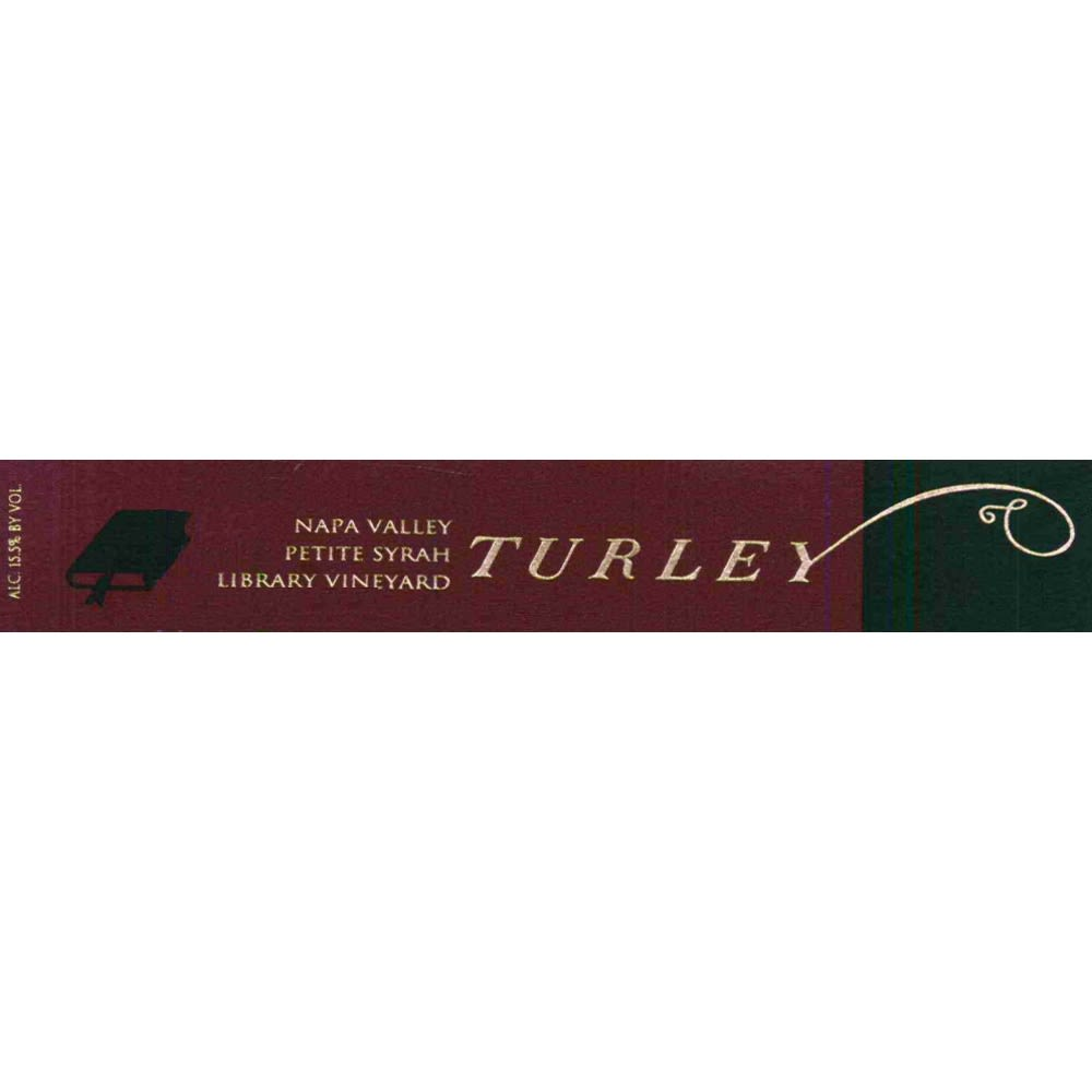 Turley Library Petite Syrah 2007 Front Label