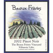 Beaux Freres The Beaux Freres Vineyard Pinot Noir (1.5 Liter Magnum) 2002 Front Label