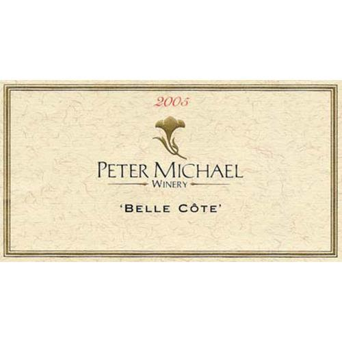 Peter Michael Belle Cote Chardonnay 2005 Front Label