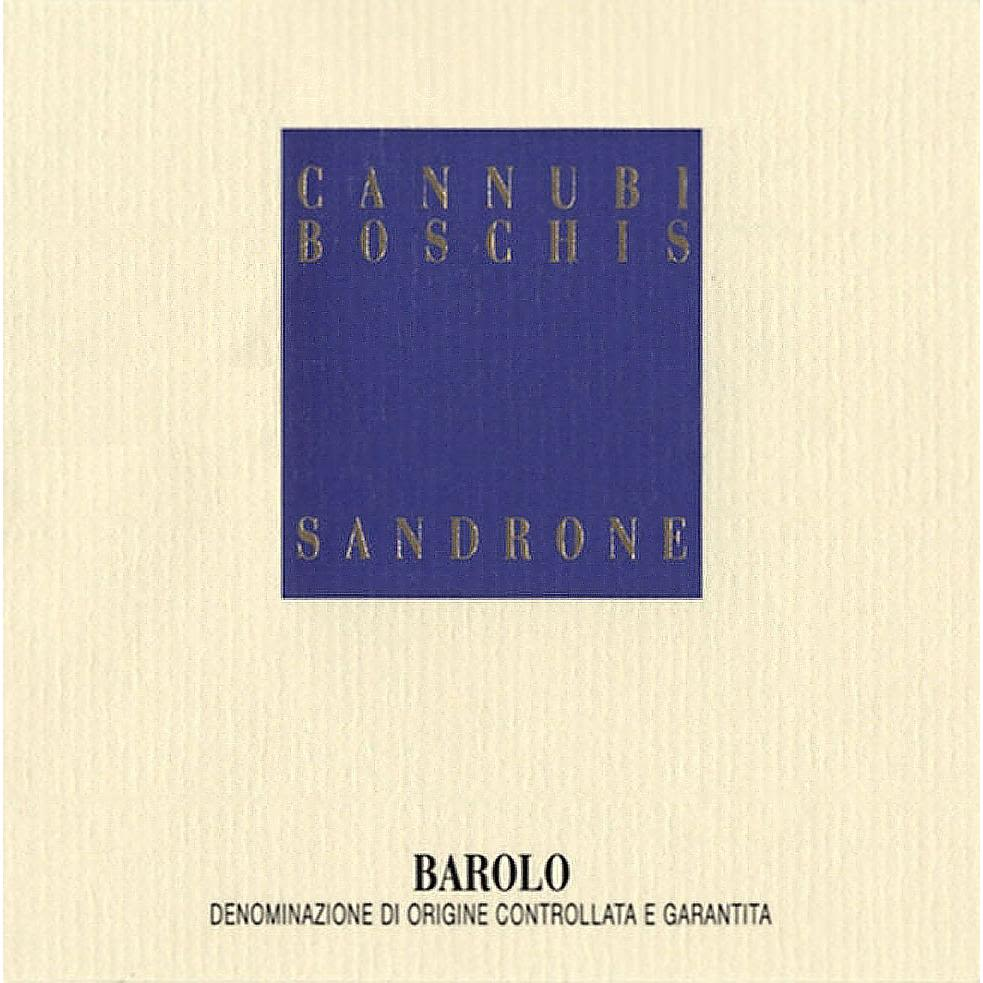 Sandrone Barolo Cannubi Boschis 1993 Front Label