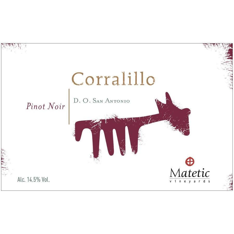 Matetic Corralillo Pinot Noir 2010 Front Label