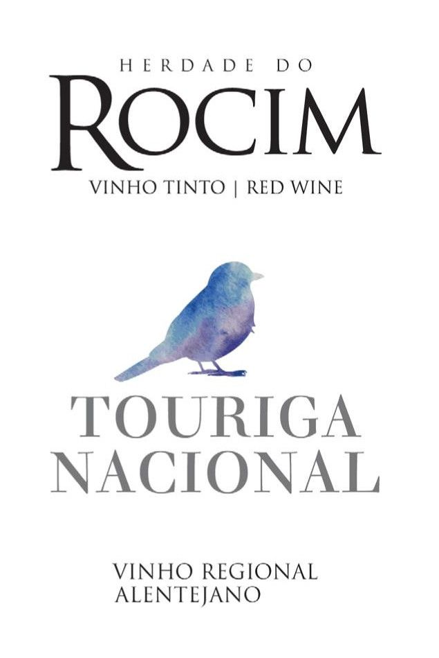 Herdade do Rocim Touriga Nacional 2015 Front Label