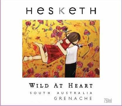 Hesketh Wild at Heart Grenache 2009 Front Label