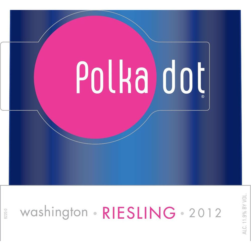 Polka Dot Sweet Riesling 2012 Front Label