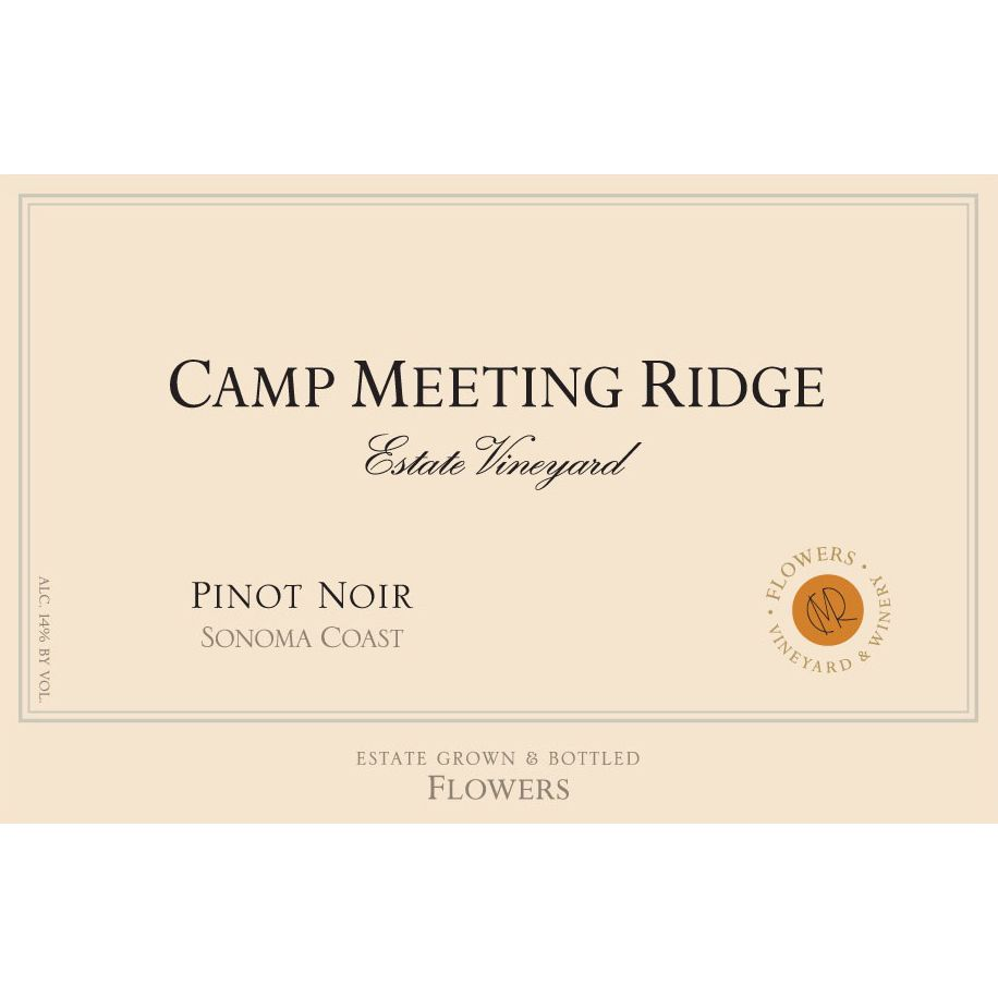 Flowers Camp Meeting Ridge Pinot Noir 2000 Front Label