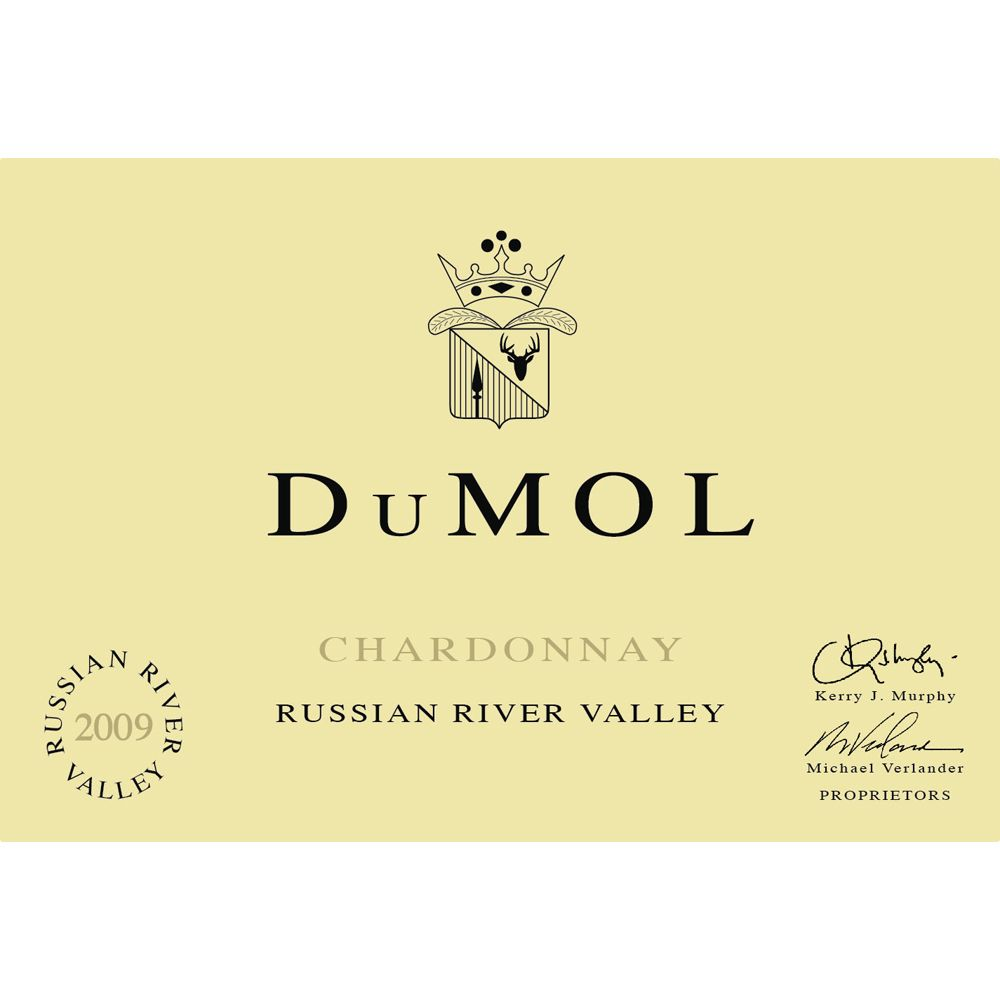 DuMOL Russian River Valley Chardonnay 2004 Front Label