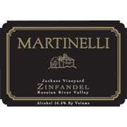 Martinelli Jackass Vineyard Zinfandel 2000 Front Label