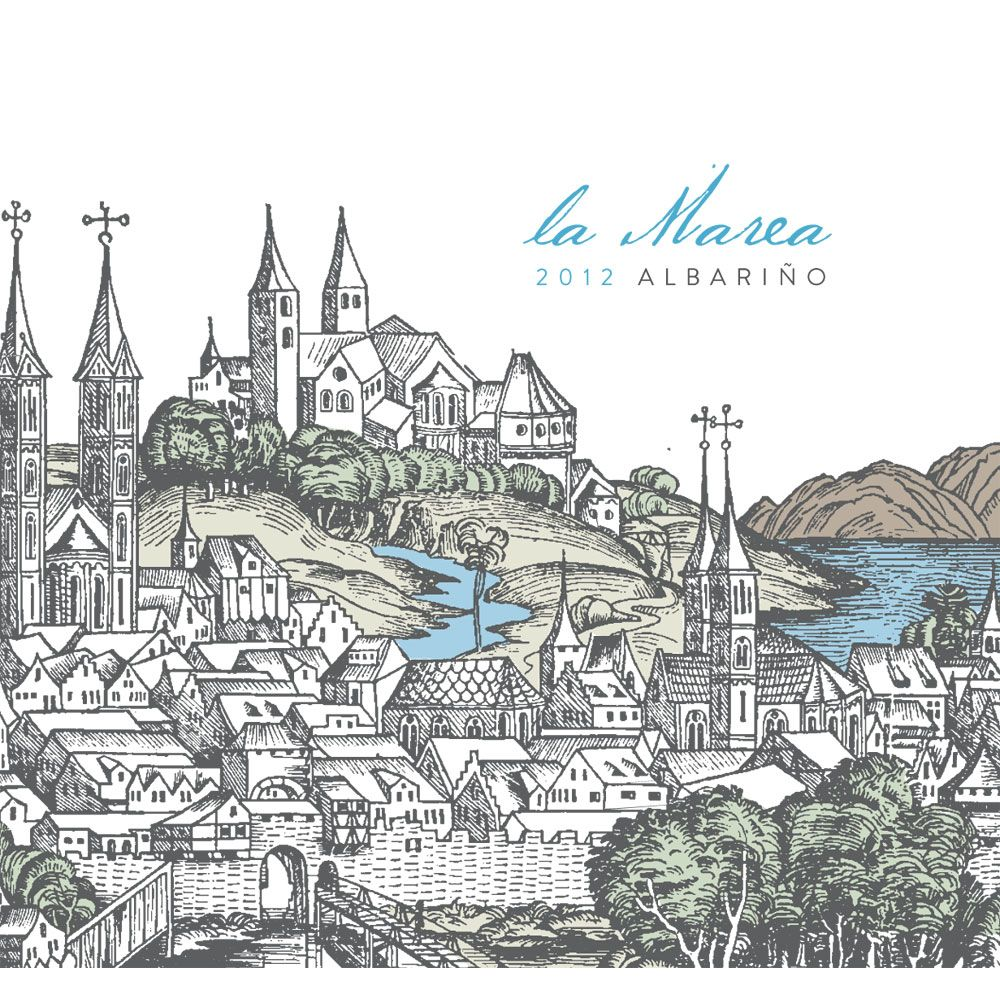 La Marea Albarino Kristy Vineyard 2012 Front Label