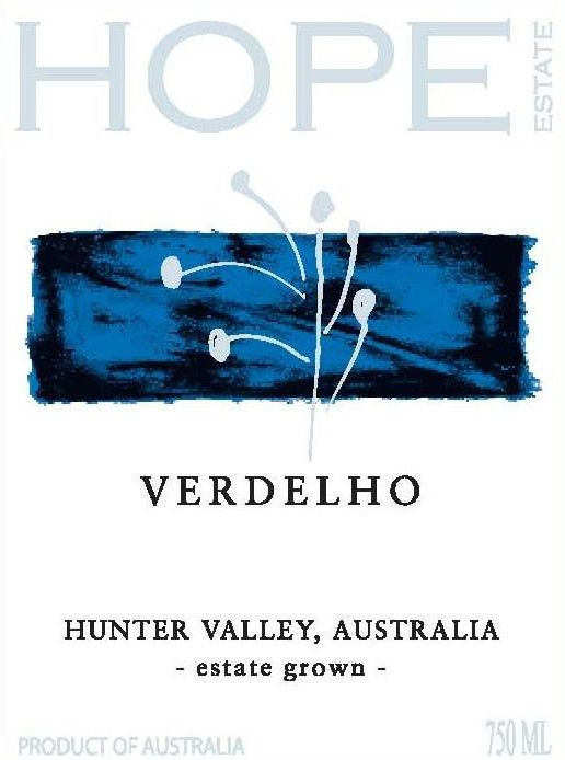 Hope Verdelho 2009 Front Label