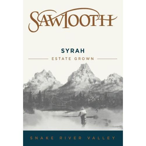 Sawtooth Syrah 2011 Front Label