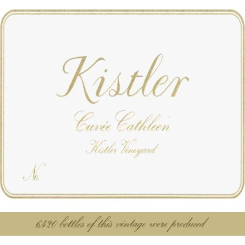 Kistler Vineyards Cuvee Cathleen Chardonnay 2004 Front Label