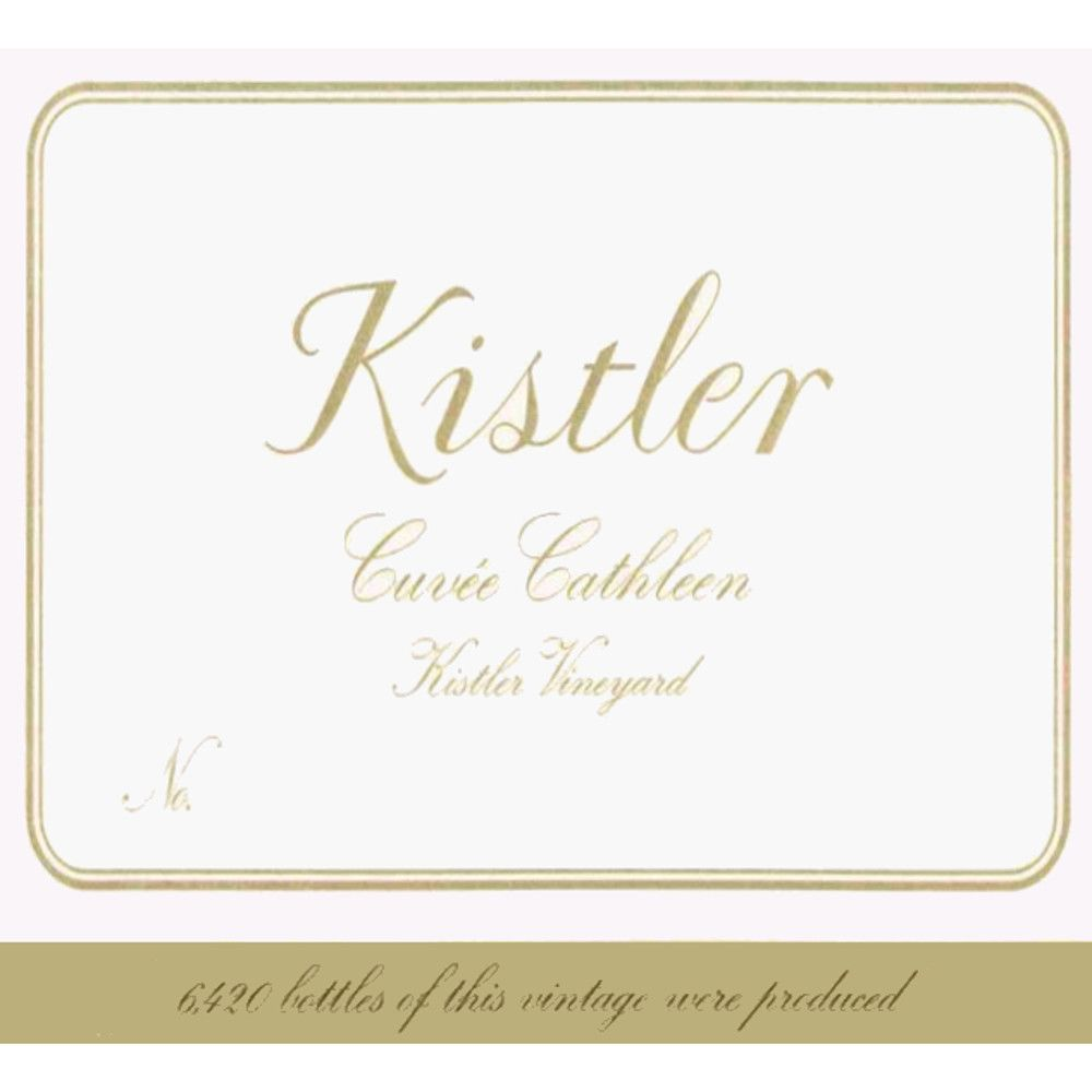 Kistler Vineyards Cuvee Cathleen Chardonnay 2006 Front Label