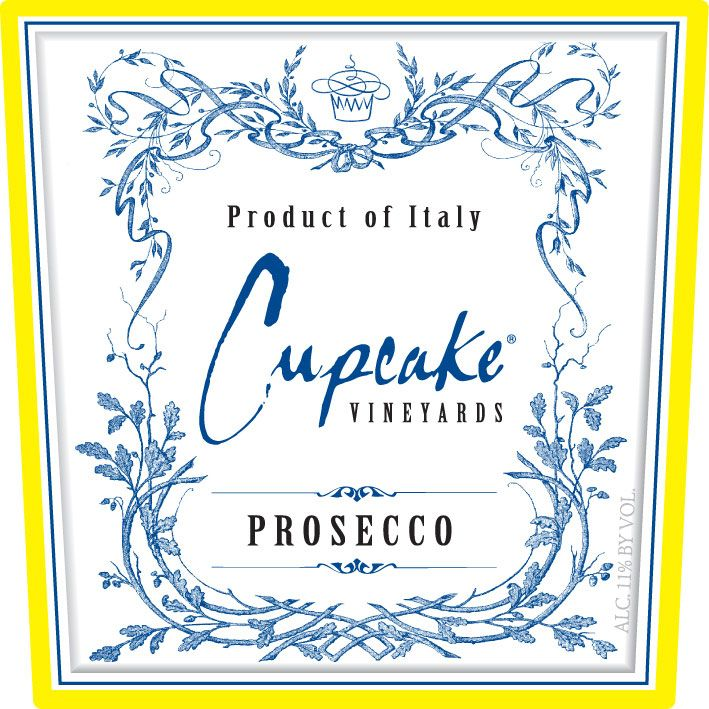 Cupcake Vineyards Prosecco Front Label