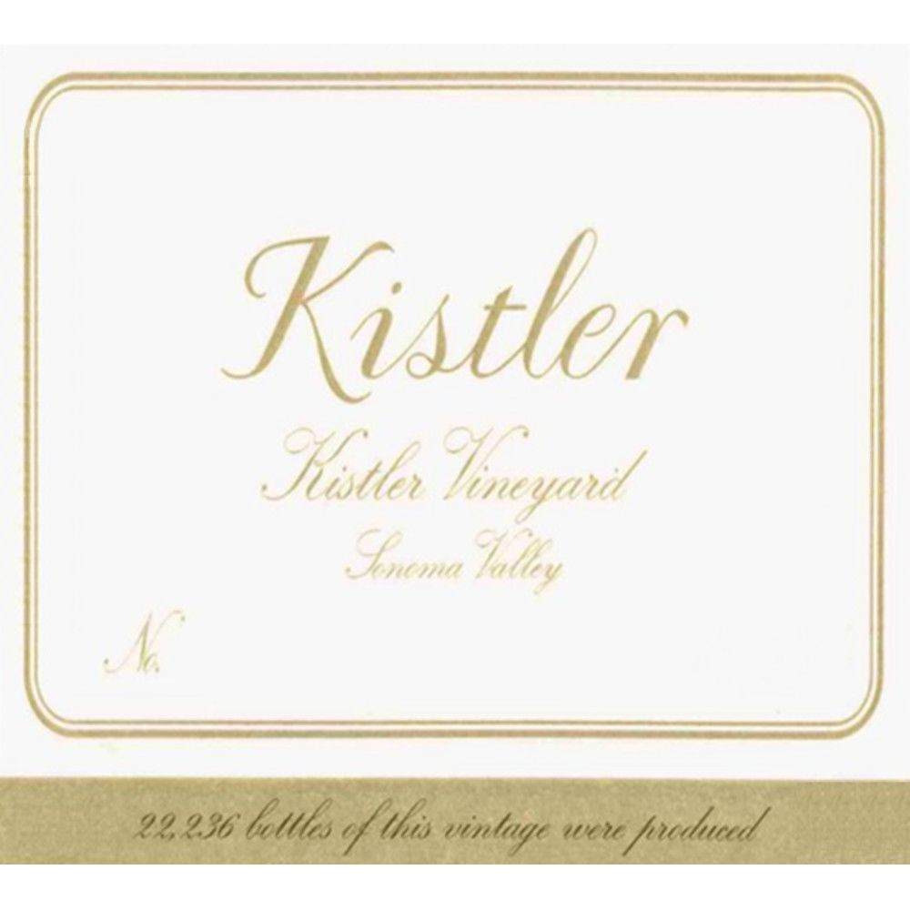 Kistler Vineyards Kistler Vineyard Chardonnay (torn labels) 2005 Front Label